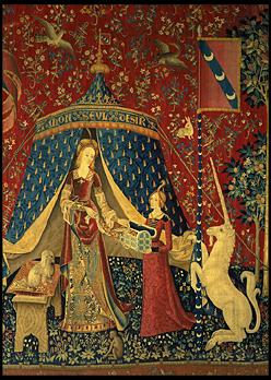 The lady and the Unicorn Tapestry, Paris